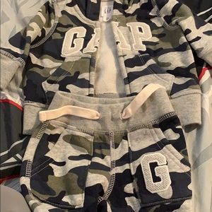 GAP Other - Army fatigue GAP baby outfit